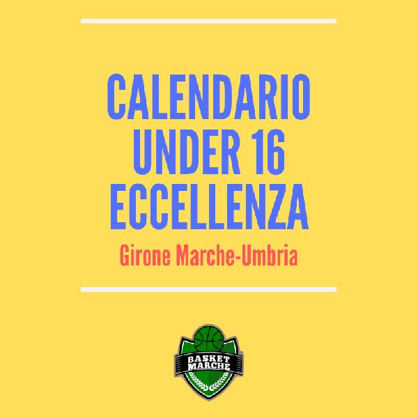 Calendario Eccellenza.Under 16 Eccellenza Pubblicato Il Calendario Ufficiale Si