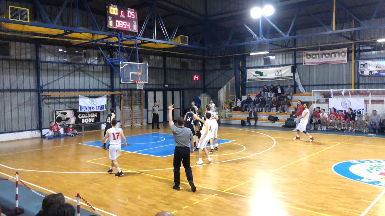 La Vigor Matelica si impone sugli 88ers Civitanova - Serie D Regionale Marche Girone B - Basketmarche.it