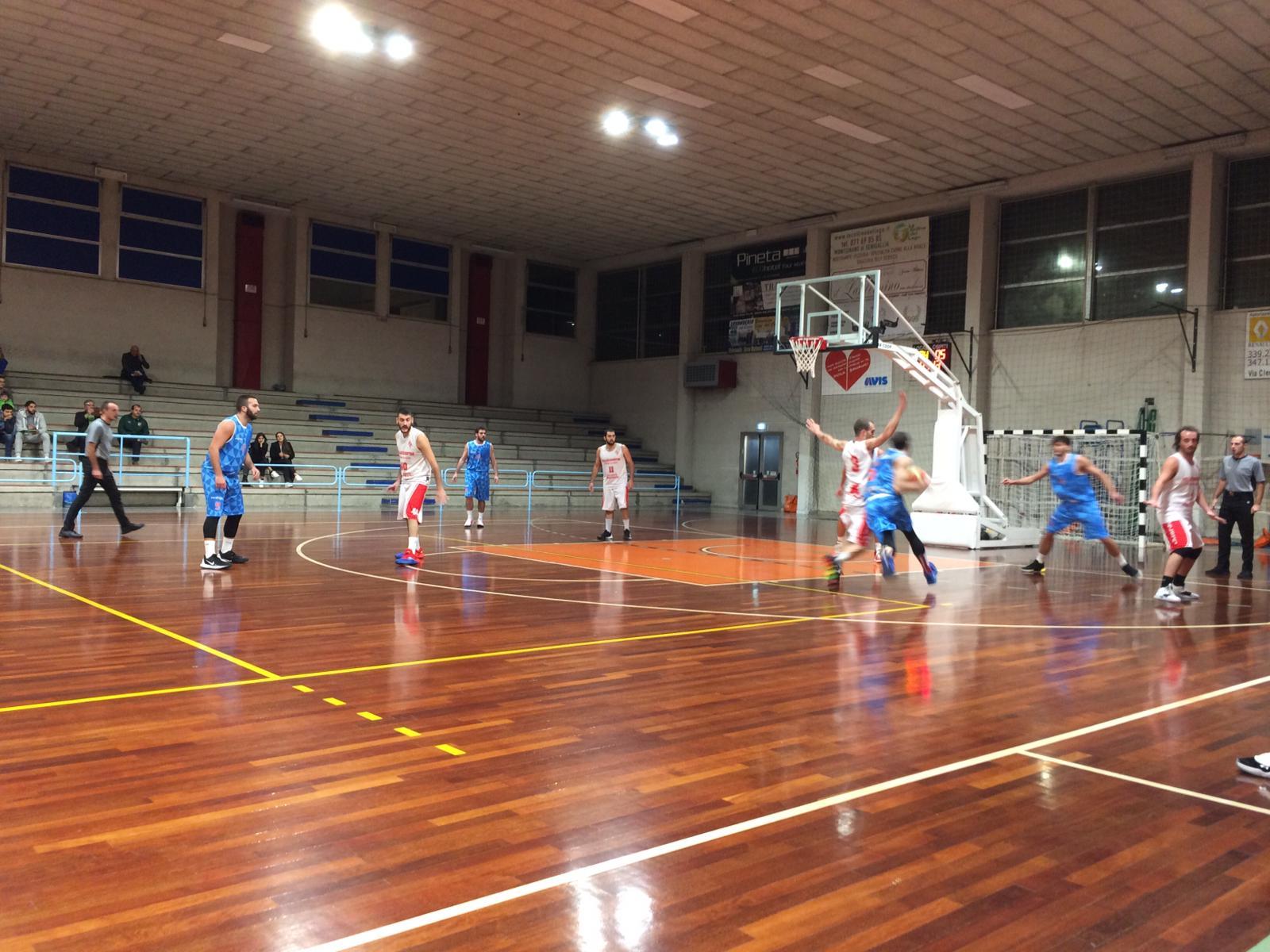 Il Senigallia Basket 2020 espugna il campo della Don Leone Ricci Chiaravalle e resta imbattuto - Promozione Marche Girone B - Basketmarche.it