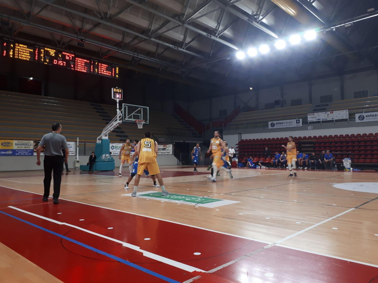 Pallacanestro Recanati, il Presidente Ottaviani lancia un importante messaggio di fair play ai propri tifosi - Serie C Silver Girone Marche-Umbria - Basketmarche.it