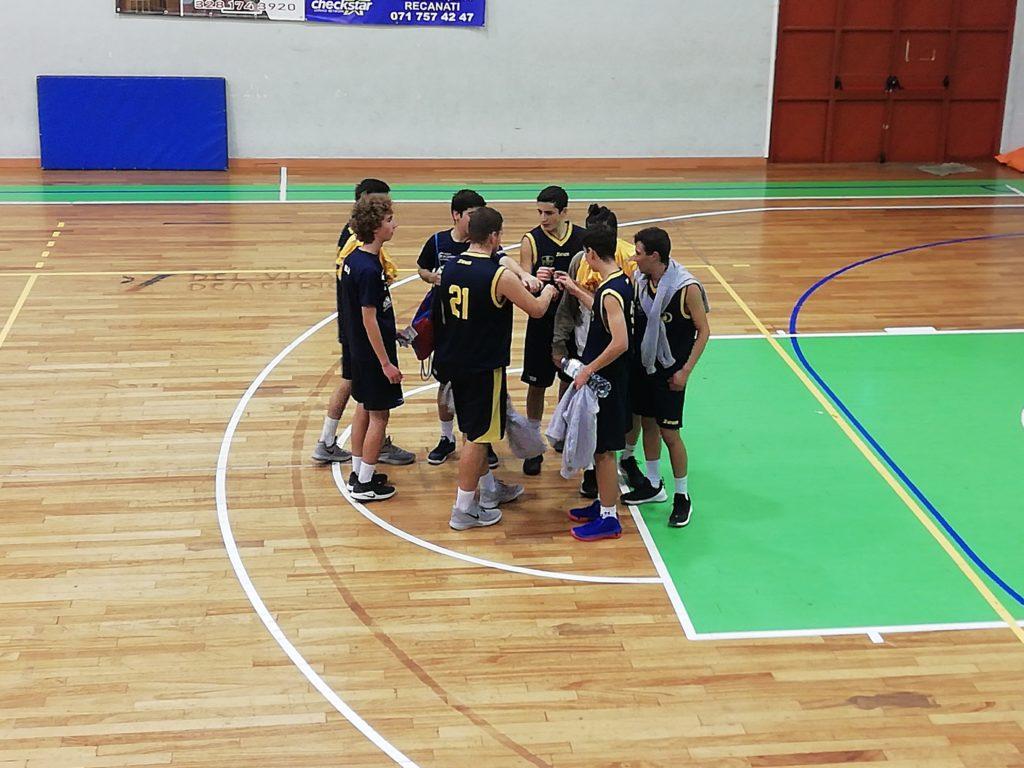 Under 18 Silver: il Basket Fermo passa sul campo della Pallacanestro Recanati - Under 18 Marche Girone Silver B - Basketmarche.it