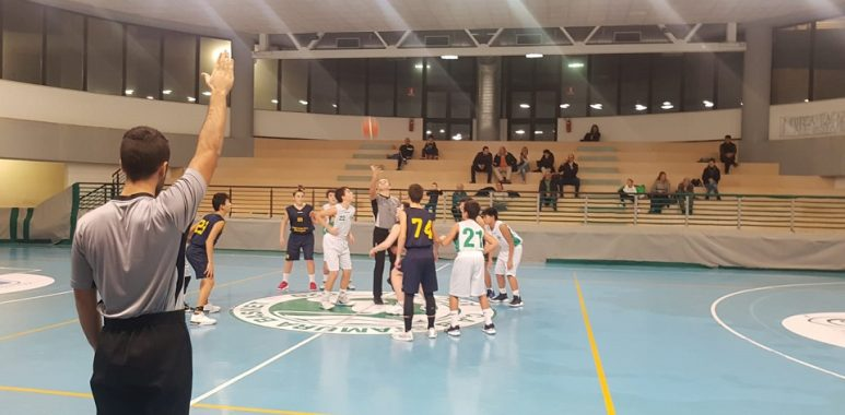 Under 14 Regionale: la Pallacanestro Recanati passa sul campo di una Stamura Ancona in crescita - Under 14 Marche - Basketmarche.it