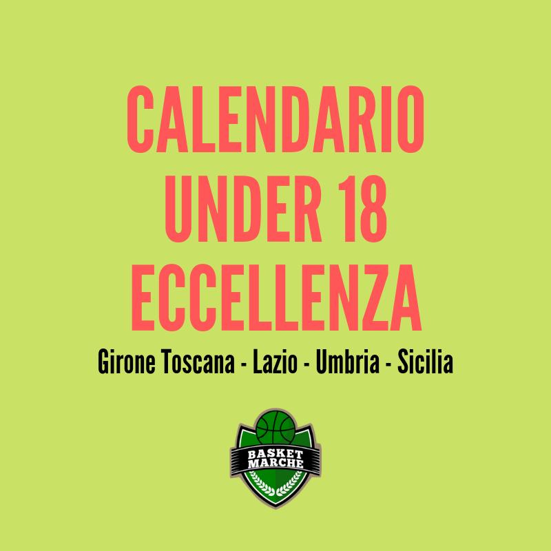 Calendario Eccellenza Toscana.Under 18 Eccellenza Il Calendario Provvisorio Del Girone D