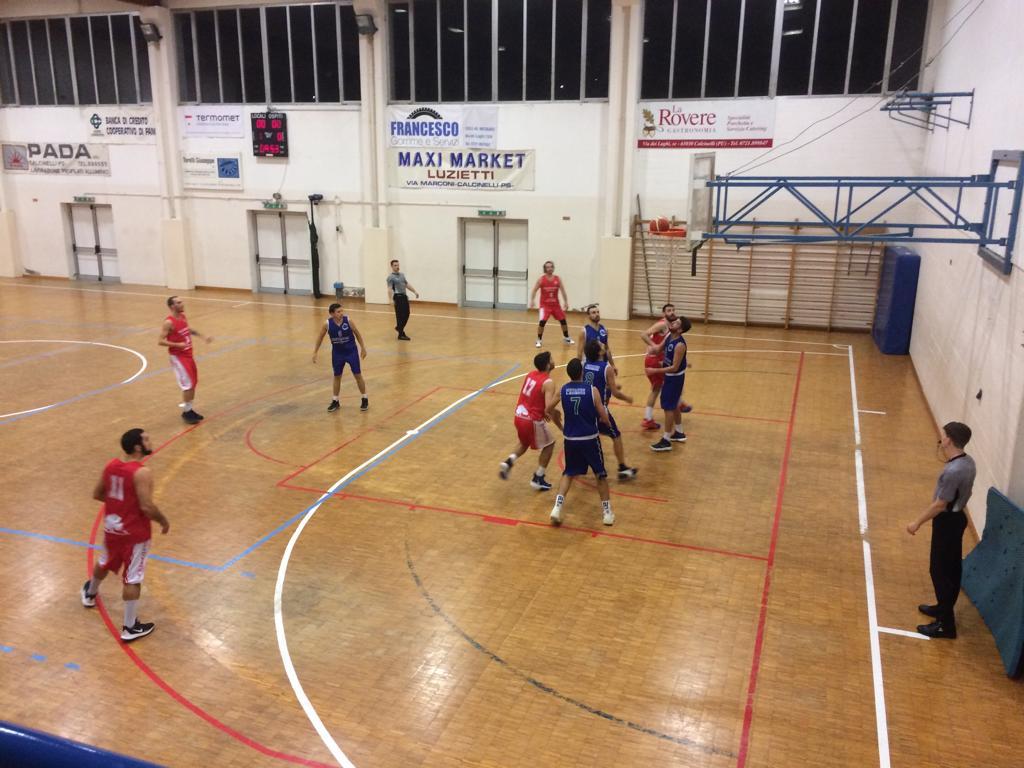 La Pol. Ricci Chiaravalle espugna il campo della Metauro Basket Academy - Promozione Marche Girone B - Basketmarche.it