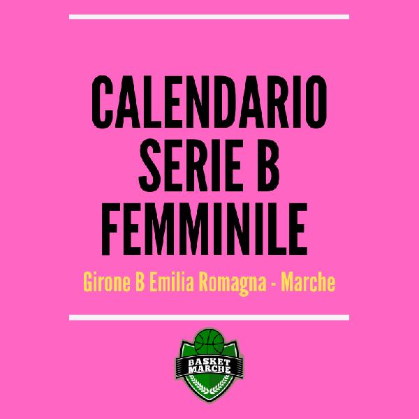 Calendario Di Serie B.Il Calendario Provvisorio Della Serie B Femminile Si Parte