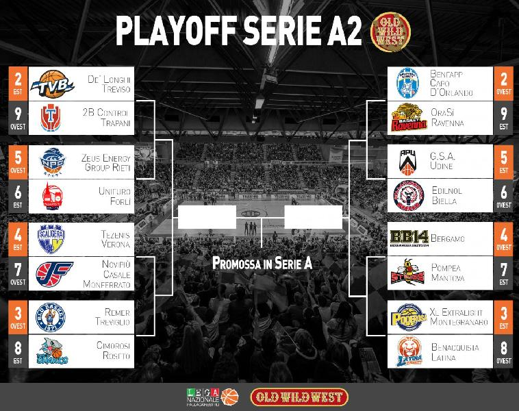 Treviso Basket Calendario.Serie A2 Playoff Il Calendario Ufficiale Degli Ottavi Di